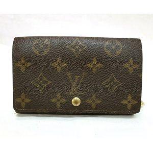 Louis Vuitton Porte monnaie Billets Tresor Wallet